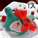 【兒童配件髮飾】聖誕節,年節系列-喜氣宴會髮式韓版-小熊蝴蝶結皇冠造型髮夾 /兒童髮飾/鴨嘴夾/橫夾☆1入