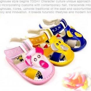 【給寶寶人生第一步的小鞋子】幼童軟底造型透氣涼鞋/ 學步鞋/寶寶鞋/嬰幼兒鞋/外出休閒鞋