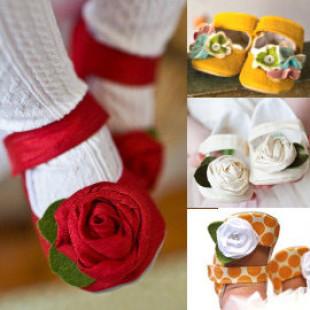 【給寶寶人生第一步的小鞋子】花朵娃娃鞋/學步鞋/防滑童鞋/寶寶鞋/嬰幼兒鞋/外出休閒鞋