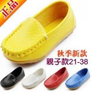 【真正的親子鞋來囉,腳長13-24公分都有】時尚純色好穿搭豆豆鞋,帆布鞋/休閒鞋/運對鞋/親子鞋~穩健,舒適,好穿脫
