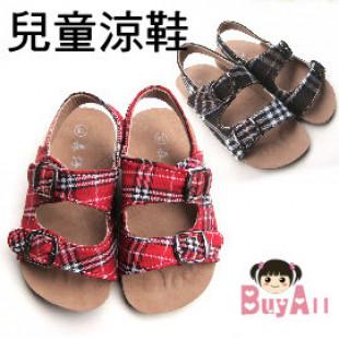 【春夏必備博肯格子涼鞋系列】 男女童涼鞋 / 童鞋/ 春夏涼鞋/男女童鞋子/兒童鞋子