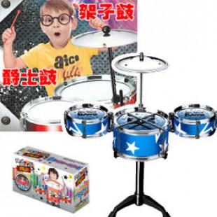 【兒童早教益智音樂玩具】花最實惠的價格誘發小孩的音樂興趣,爵士鼓樂隊,益智玩具/兒童樂器