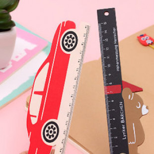 【兒童文具尺子,學習用品】可愛療癒造型直尺/繪圖卡通動物尺規,可攜便利/開學用品/兒童節禮物/學習工具