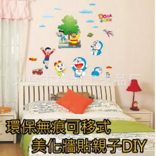 【親子同樂共享DIY佈置增加學習樂趣】造型時尚裝飾壁紙貼/趣味貼/壁貼/無痕創意牆貼/可移除環保壁貼/居家佈置/兒童創意