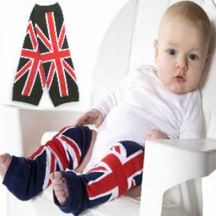 【一年四季都實用多用途護套】英倫風經米字圖案兒童襪套 /兒童配件冬天也可當袖套,春夏天可當裝飾或寶寶爬行護套☆