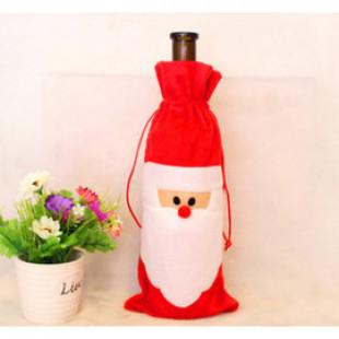 【兒童百貨,揹包配件收納袋】高端美麗聖誕糖果罐,聖誕公仔酒瓶罐裝禮袋,裝禮物或寶貝配件,可愛立體公仔聖誕禮物袋/生日禮袋☆