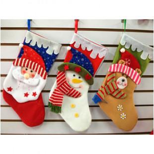 【兒童百貨,揹包配件收納袋系列】裝禮物或寶貝配件,節慶聖誕跨年part不可缺聖誕掛襪/立體公仔聖誕禮物袋/生日禮袋☆