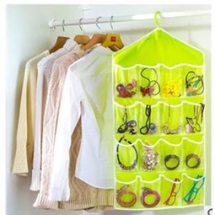 【多用途收納掛袋空間好利用】無論手飾,髮飾,內衣褲,襪子通通可收納,整理袋,有了它不再凌亂多功能收納包袋
