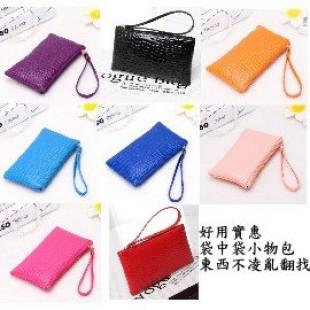 【包包,小物,收納系列】小包大功用,可以當袋中袋,也可以是化妝包/筆袋/文具包/收機包/拉鍊零錢包