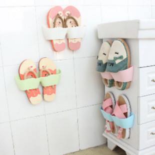 【媽咪的好幫手,多用途收納鞋子掛架空間好利用】壁面鞋架好收納,牆壁可黏式可壁掛/鞋掛,有了它,鞋子不再凌亂多功能收納包袋