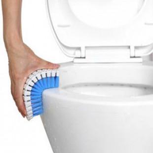 【讓生活多一點創意百貨生活用品】輕鬆刷洗隨意彎曲,邊邊角角不再藏汙納垢/可彎曲洗潔刷子/浴室磁磚清潔刷/浴廁刷