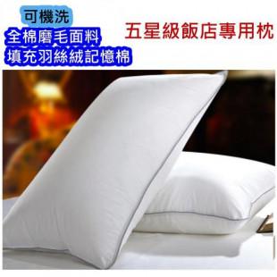 五星級飯店專用高彈枕芯,讓您一夜好眠,全棉磨毛的枕頭面料,可機洗可調整高度,喜歡睡高高2顆疊一起也不落枕,實惠好睡