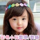 【俏麗造型典雅髮帶】-大玫瑰蕾絲髮帶/髮飾/兒童飾品/頭套/髮圈/兒童造型配件 ☆3色