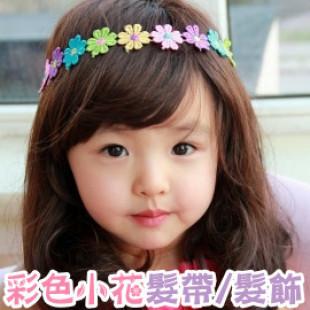 【俏麗造型典雅髮帶】-小花髮帶/髮飾/兒童飾品/頭套/髮圈/兒童造型配件 ☆