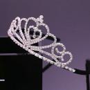 【公主造型活動表演配件髮箍】公主皇冠鑽石造型髮箍/兒童髮飾/兒童飾品/宴會配件/表演/兒童節生日禮物/卡通髮箍