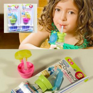隨身變嬰幼童必備【寶貝上學必備用品】外貿出口日單~兒童寶寶瓶裝飲料吸管蓋/吸管水嘴/ 替換蓋通用