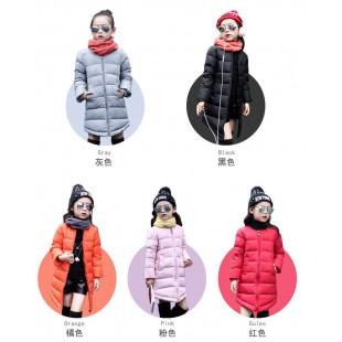 【頂級長版保暖,防風禦寒兒童羽絨外套】改良式新款兒童羽絨衣,輕暖,好搭配,超級推薦保暖時尚-秋冬羽絨外套最夯保暖外套